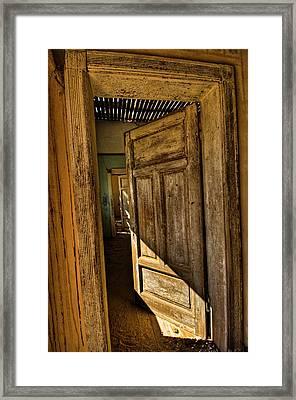 Kolmanskop I Framed Print