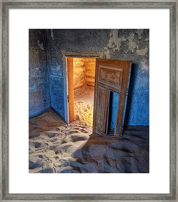 Framed Print featuring the photograph Kolmanskop by Rand