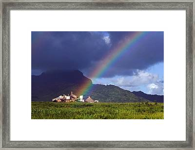 Koloa Mill Framed Print by Nick Galante