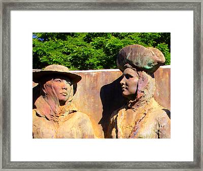Koloa Sugar Industry Monument 2 Framed Print by Randall Weidner