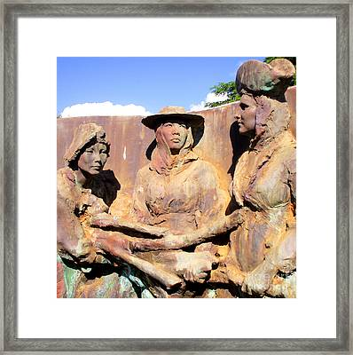 Koloa Sugar Industry Monument 3 Framed Print by Randall Weidner
