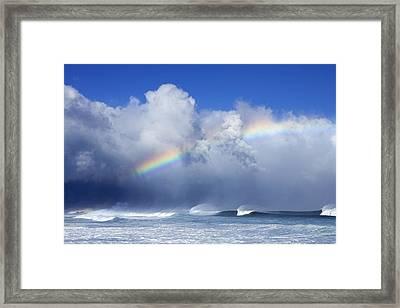 Kona Winds Framed Print