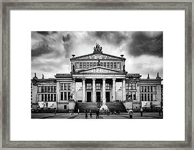 Konzerthaus Berlin Framed Print