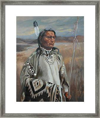 Kootenay Chief Framed Print
