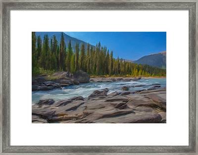 Kootenay River Framed Print