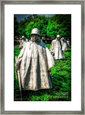 Korean War Veterans Memorial #4 Framed Print
