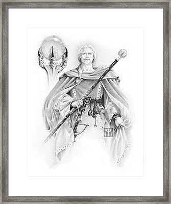 Korranderaythe Von Cristalvasser Framed Print