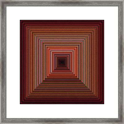 Korrydor Framed Print