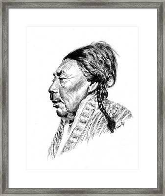 Koskimo Woman Framed Print