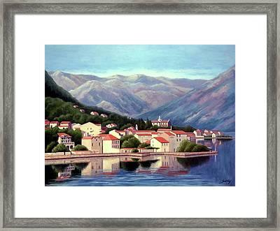 Kotor Montenegro Framed Print