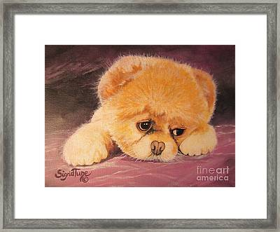Flying Lamb Productions     Koty The Puppy Framed Print