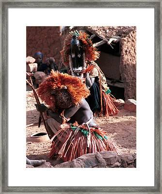 Koundou Andou 1986 Framed Print by Huib Blom