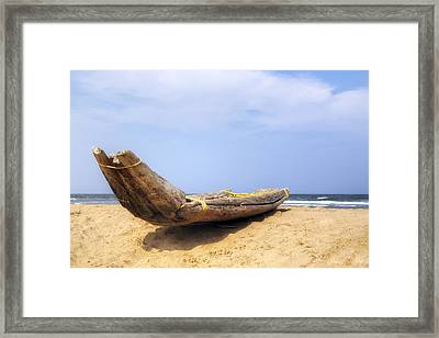 Kovalam Beach - India Framed Print