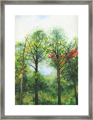 Kowloon Park Hong Kong 01 Framed Print