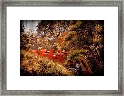 Kowloon - Red Bridge Framed Print