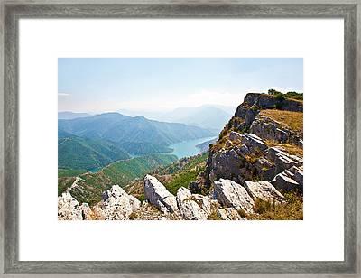 Kozjak Mountain 1 Framed Print by Marjan Jankovic