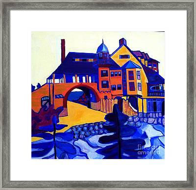 Kragsyde Framed Print by Debra Bretton Robinson