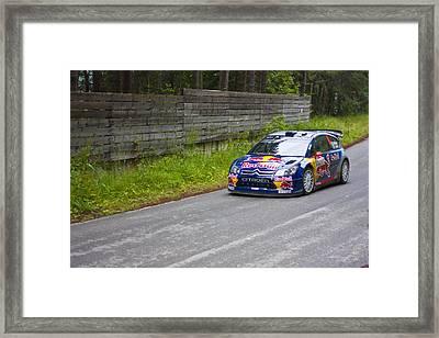 K.raikkonen/k.lindstrom Framed Print