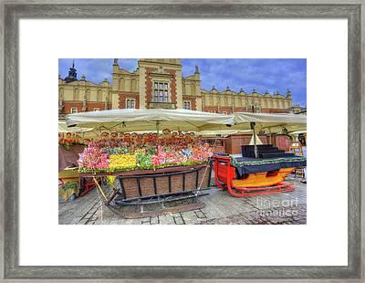 Krakow Christmas Market 2017 Framed Print