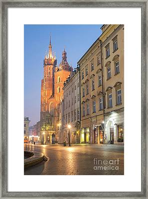 Framed Print featuring the photograph Krakow by Juli Scalzi