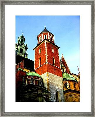 Framed Print featuring the photograph Krakow Poland by Michelle Dallocchio