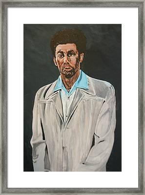 Kramer After Unknown Artist Framed Print by Betty-Anne McDonald