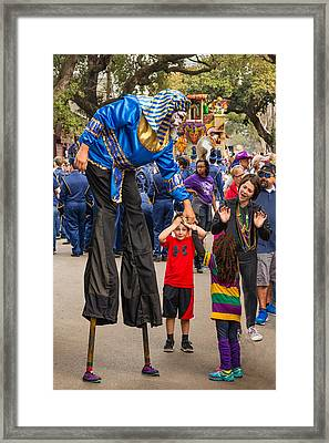 Krewe Of Thoth Greeting Framed Print