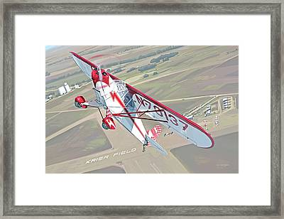Krier Field Framed Print