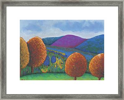 Kripalu Autumn Framed Print