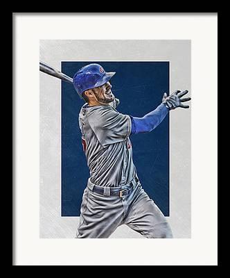 Baseball Fields Mixed Media Framed Prints