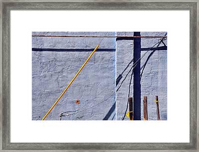 Krishna Blue Framed Print by Skip Hunt