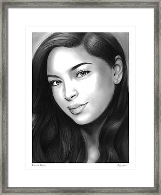 Kristin Framed Print