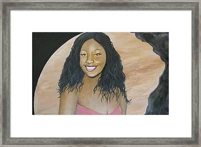 Kristy Aphrodite Of Venus Framed Print