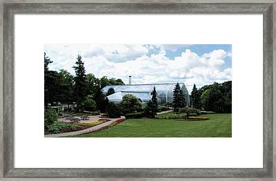 Krohn Conservatory Photograph Framed Print