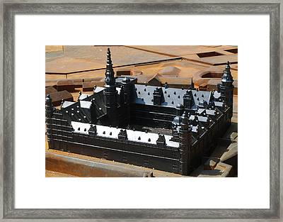 Kronborg Slot Framed Print by Michael Canning