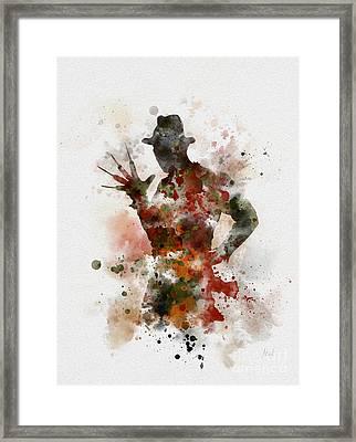 Krueger Framed Print by Rebecca Jenkins