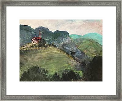 Krustova Gora Forest Of The Cross Framed Print