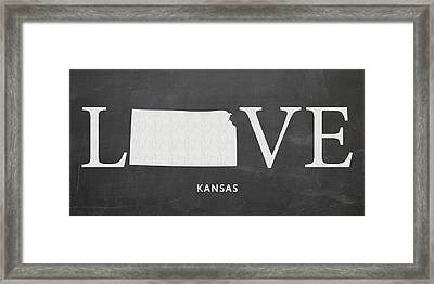 Ks Love Framed Print
