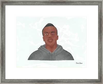 KSI Framed Print