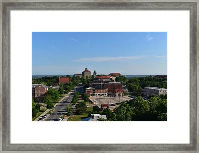 Ku View Framed Print by Mary Beth Harrison