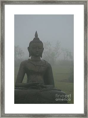 Kuan Yin Bodhisattva Guanyin Goddess Of Mercy Framed Print by Sharon Mau
