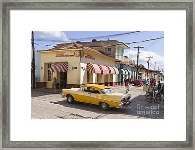 Kuba Trinidad Framed Print by Juergen Held