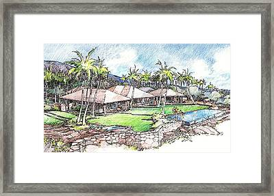 Kukio Home Framed Print