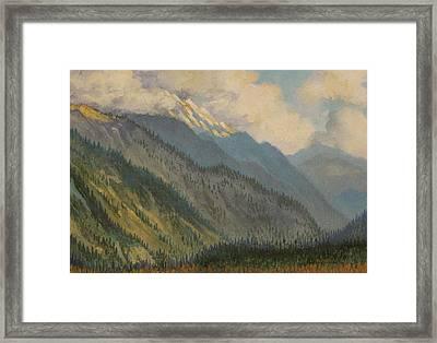 Kullu Valley. India Framed Print