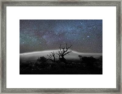 Kumulipo And The Sky Framed Print