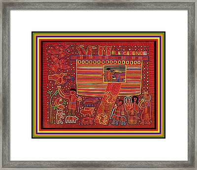 Kuna Indian Ark Framed Print