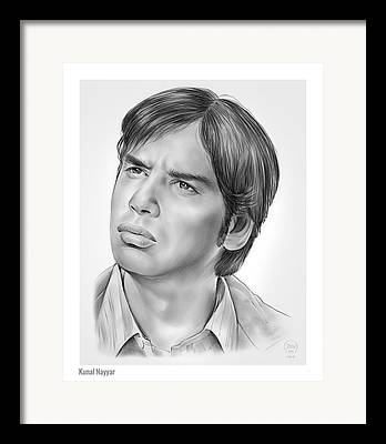 Indian Actor Framed Prints