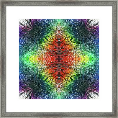 Kundalini Awakening #1554 Framed Print