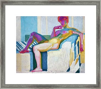 Kupka Planes Nude Framed Print by Granger