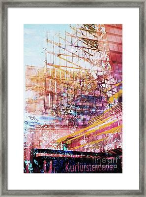 Kurfuerstendamm Framed Print